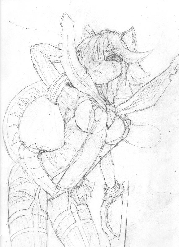 Felicia sketch