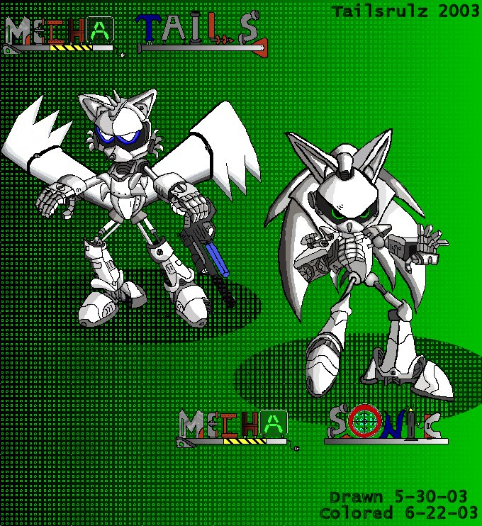 Mechanical Tails and Sonic